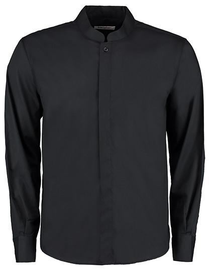 K123 Bargear Men´s Bar Shirt Mandarin-Collar Longsleeve